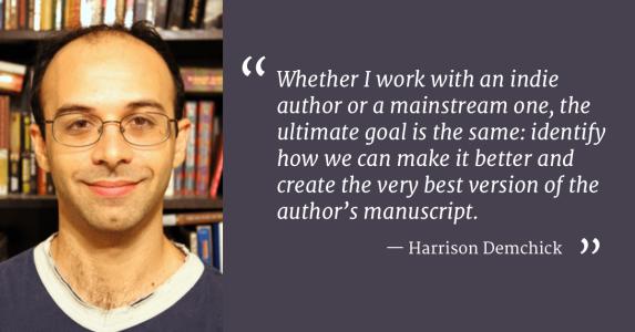 Harrison Demchick Developmental Editor Interview