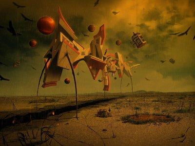 Surrealist Cover Design Jeff Huang