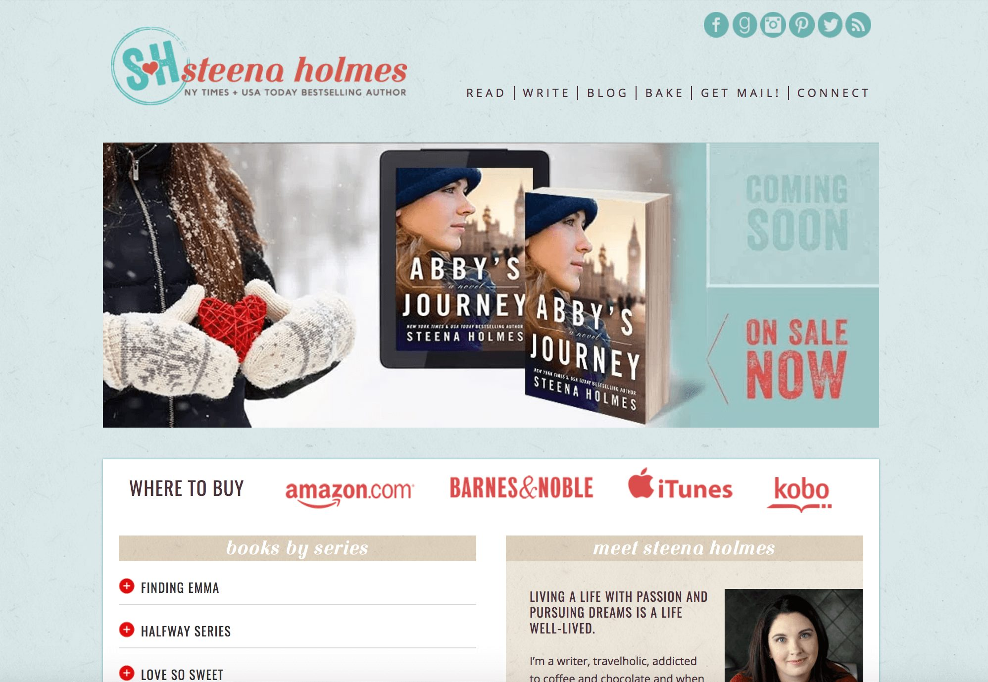 How to Make an Author Website Steena Holmes