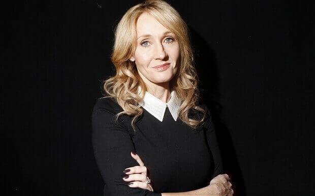 J.K. Rowling character viewpoint