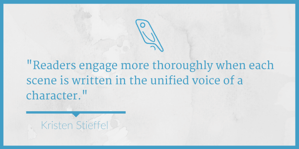 Write from a Character Viewpoint Kristen Stieffel
