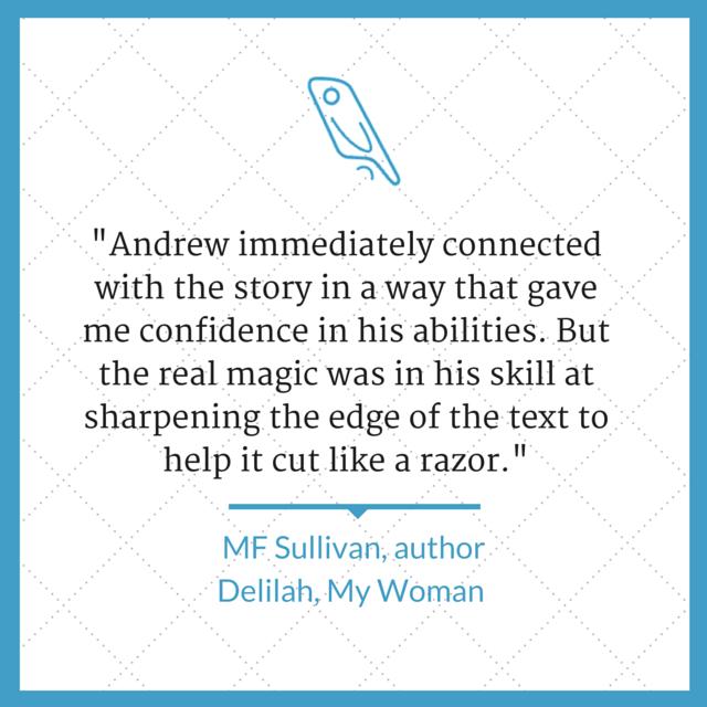 Author editor Andrew Lowe Sullivan