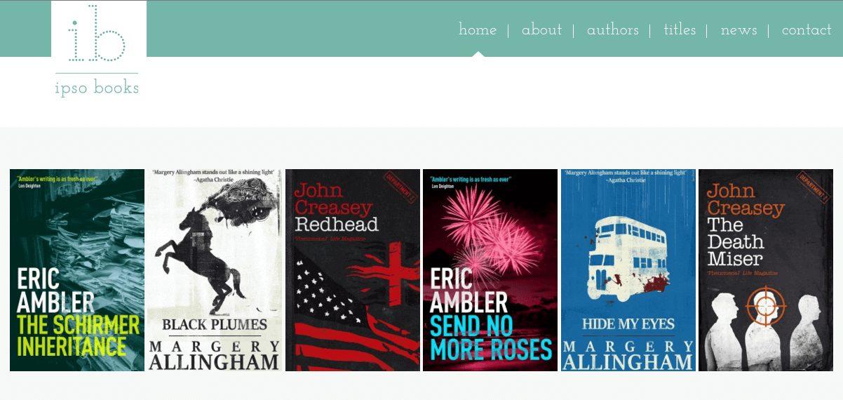IPSO Books website