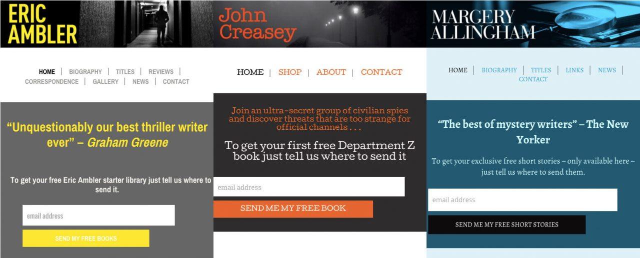 Ipso books author websites