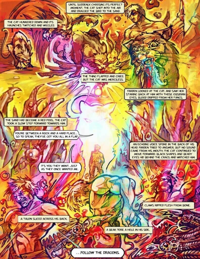 self-publish a graphic novel the written