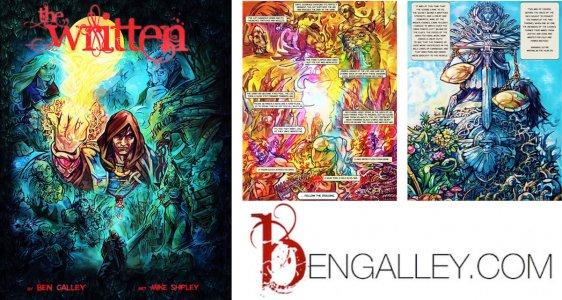 write a comic book Ben Galley