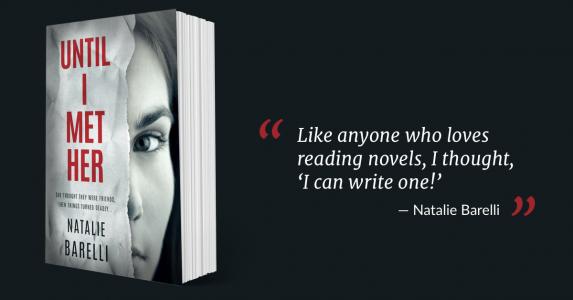 Natalie Barelli How to write a novel success story