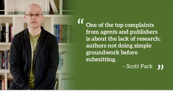 Lack of research quote from publisher Scott Pack