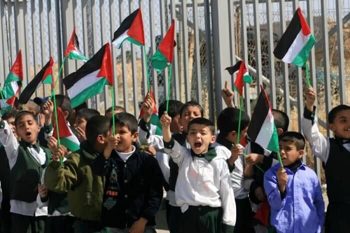 Children Protest the Gaza Blockade