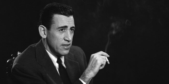 Bestselling Authors Day Jobs: JD Salinger