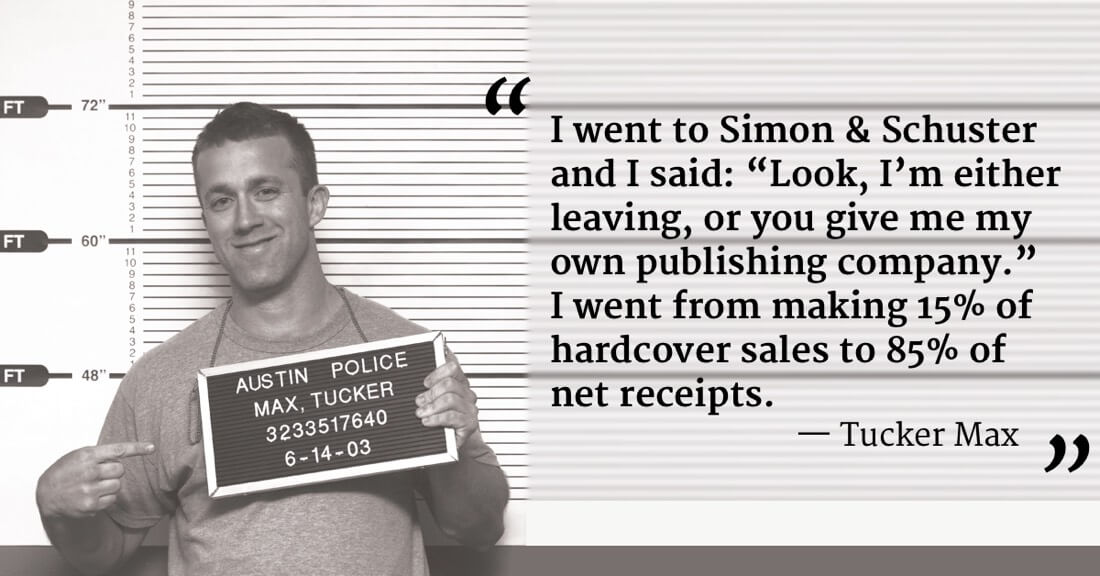 tucker max publishing