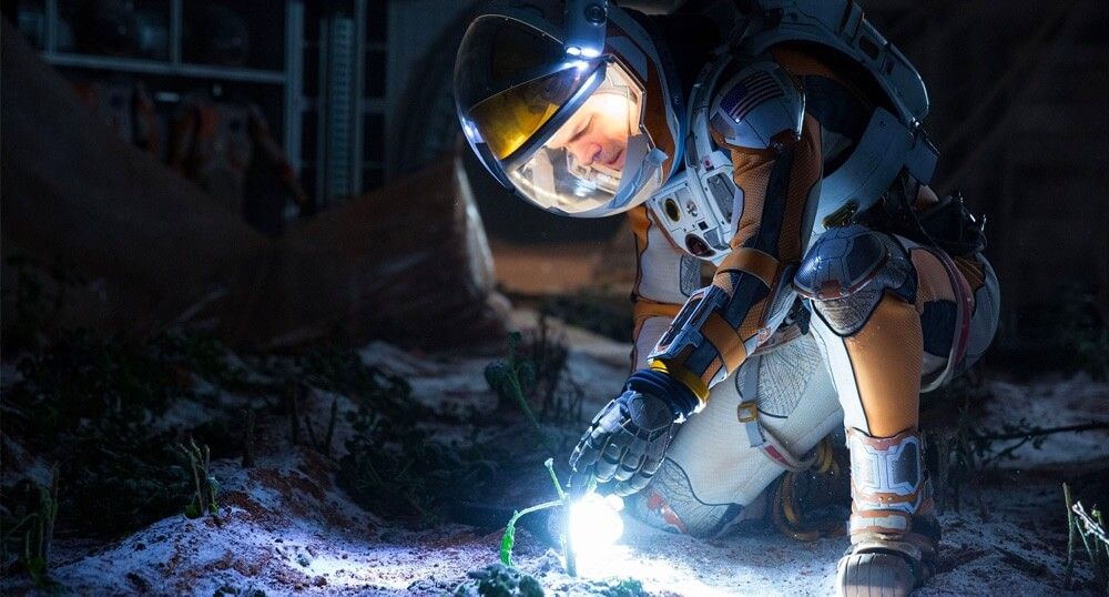 Dynamic Characters Mark Watney in The Martian
