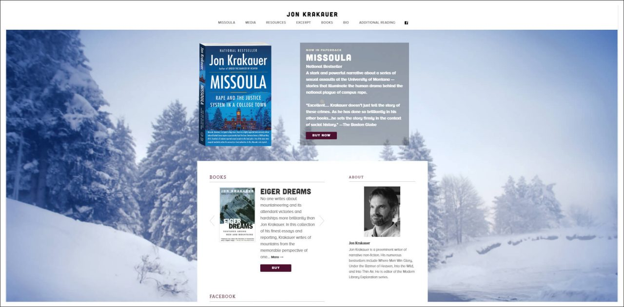 11 Author Websites That Get It Right - Jon