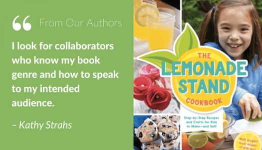 Author Kathy Strahs - Designer collaboration