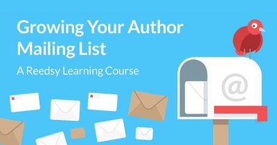 Growing an author mailing list