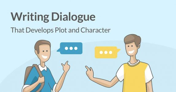 Writing dialogue graphic