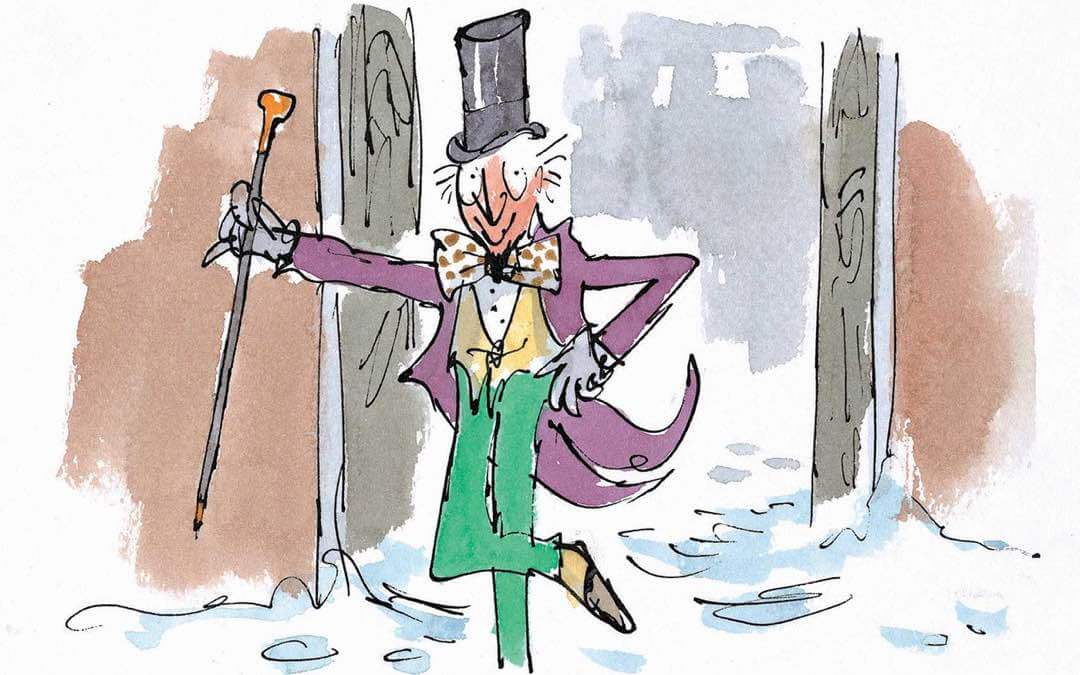 How to publish a children's book — Willy Wonka