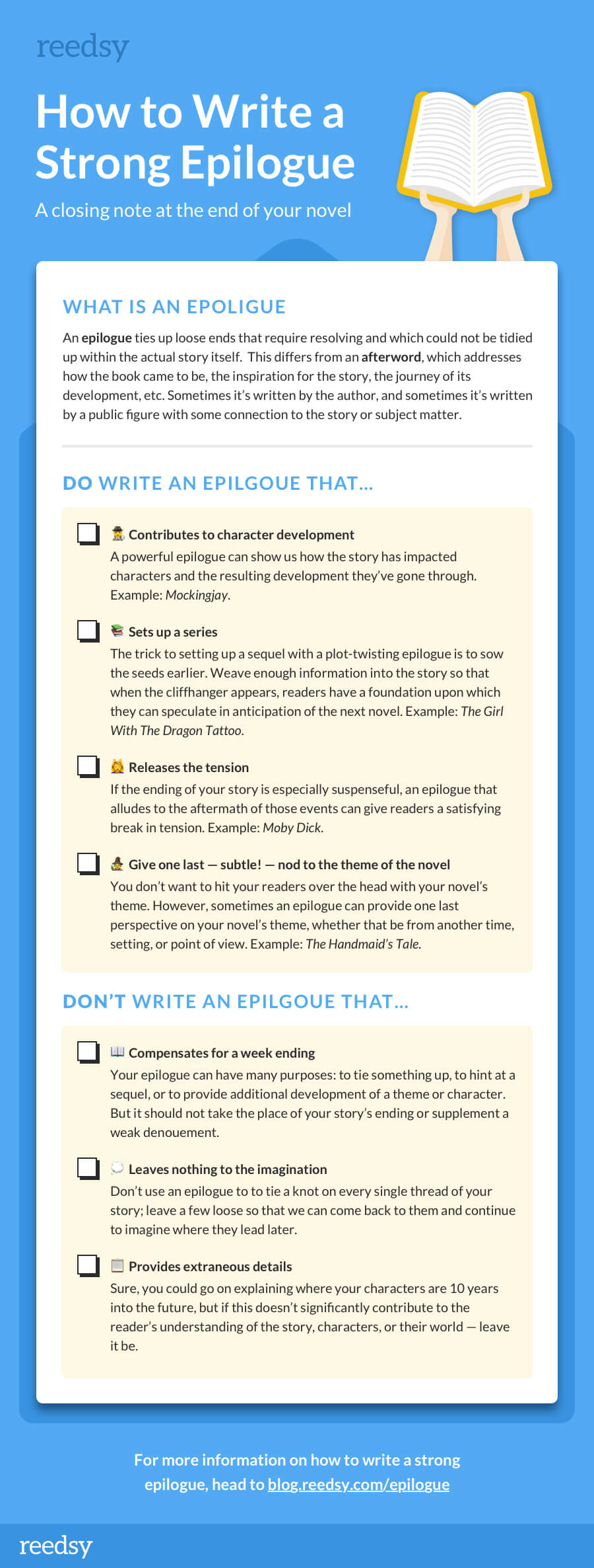 What is an Epilogue and How To Write One, According to Pro