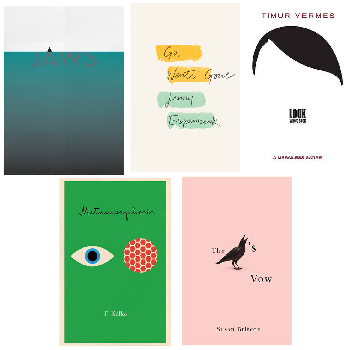 book cover ideas - minimalism
