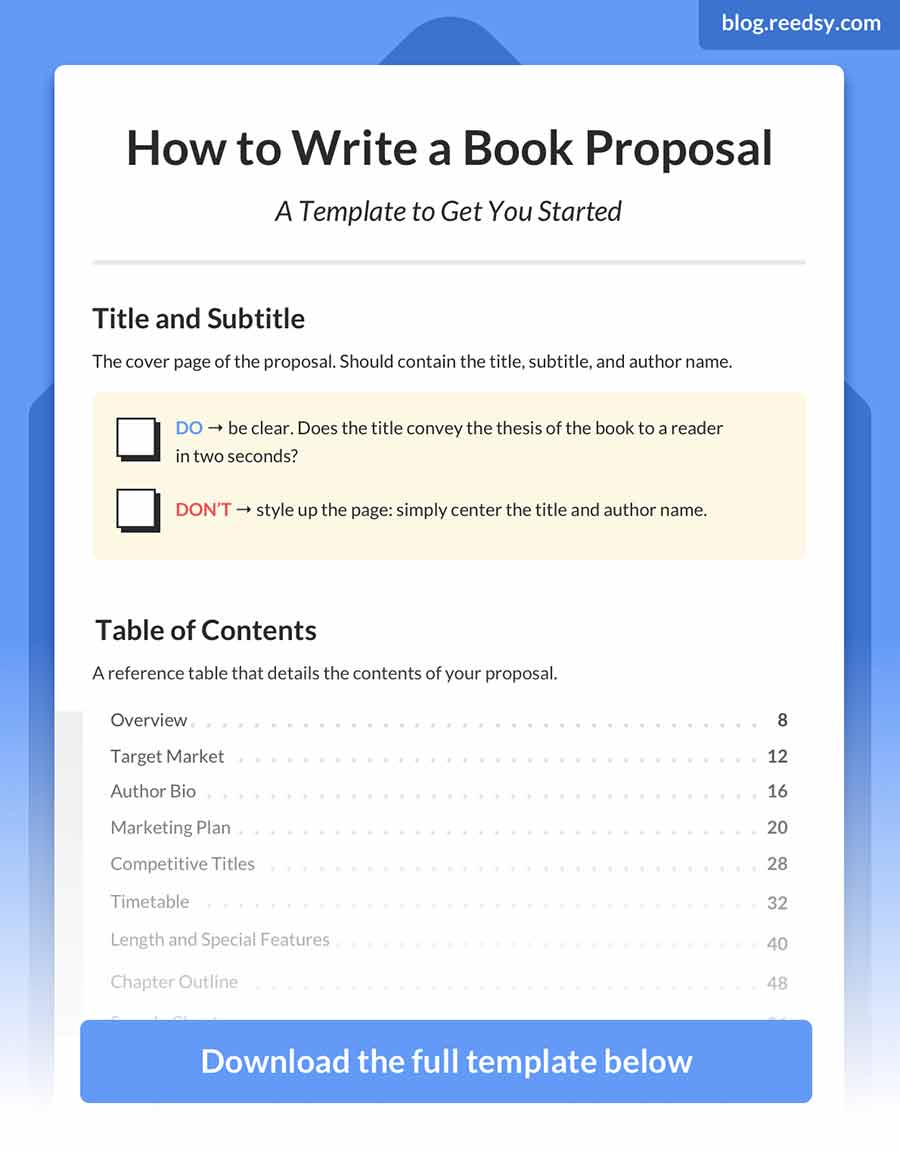 How to Write a Book Proposal: a Master Guide (with Template)