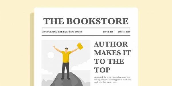 how to self-publish a book newspaper