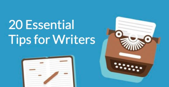 20 Writing Tips to Improve Your Craft
